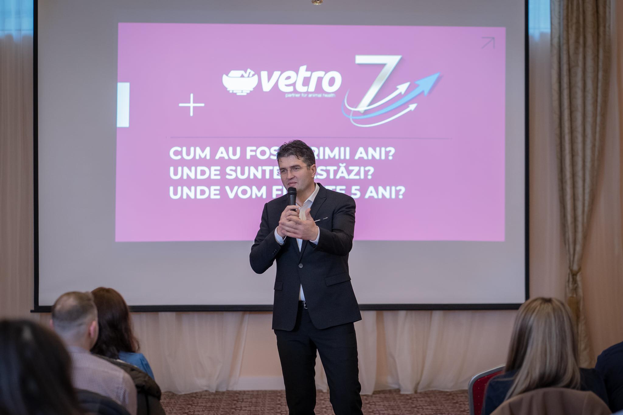 Dumitru Fodor, fondator Vetro